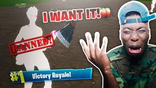 CE FORTNITE HACKER WANTS TO EAT MY BOOTY! 😷 STRANGEST DUOS VICTORY OF ALL TIME!