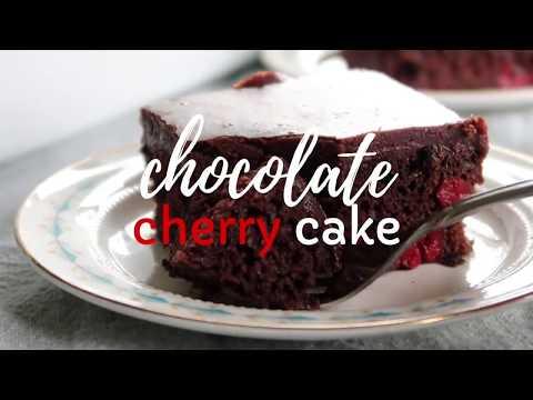 Chocolate Cherry Cake Recipe