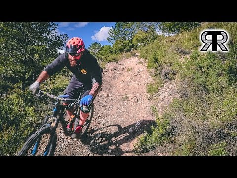 No one to ride with! (MTB SPAIN 2018)
