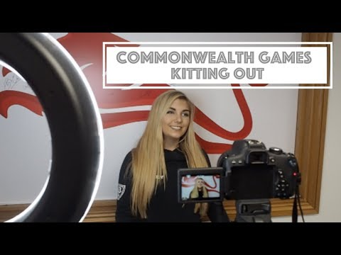 Commonwealth Games Kitting Out | TEAM ENGLAND | VLOG