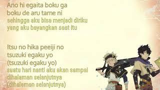 Lagu Jepang opening anime black clover Haruka Mirai (cover version) ft. Rainych