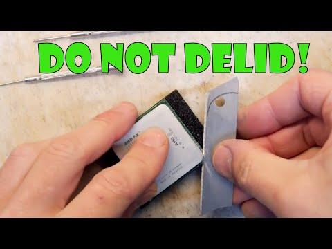 Teardown Lab - Do not DE-LID an AMD FX9590 CPU! (Already dead CPU)