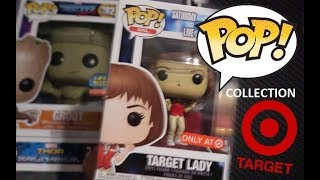FUNKO POP TARGET LADY SNL EXCLUSIVE REVIEW & MY TARGET FUNKO COLLECTION OVER 50 FUNKO POPS
