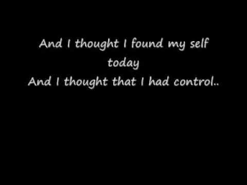 Smile Empty Soul- finding myself [ lyrics ]