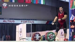 Alexey Lovchev (105+) - 200kg Snatch / 245kg Clean and Jerk