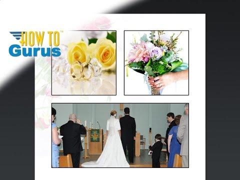 Photoshop Wedding Photo Editing : How to Design Wedding Albums and Templates CS5 CS6 CC Tutorial