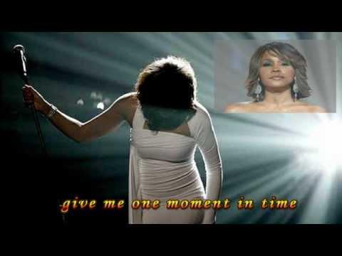 Whitney Houston-One Moment In Time (lyrics)