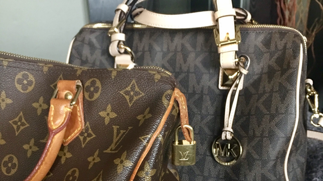 024659a38ddd Handbag Comparison: Michael Kors and Louis Vuitton - YouTube