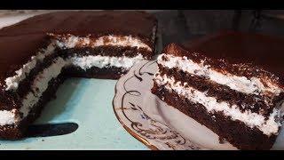 За 20 минут ПОТРЯСЯЮЩИЙ ТОРТ к чаю из 3х ингредиентов сметут мгновенно| Simple Chocolate Cake Recipe