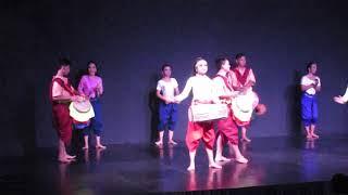 CAMBODIA:  PHNOM PENH:  NATIONAL DANCE ENSEMBLE: 5: BOXING SHOW / FINAL