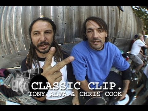 Tony Alva & Chris Cook Station ID You are Watching 411 Video Magazine Skate