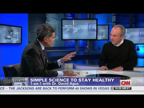 Fareed Zakaria - David Agus M.D. on How to live longer - YouTube