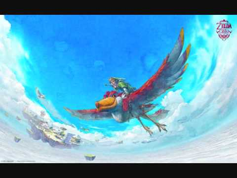 Legend of Zelda: Skyward Sword- Crimson Loftwing [Extended]