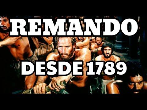 ADIESTRANDO REMEROS DESDE 1789