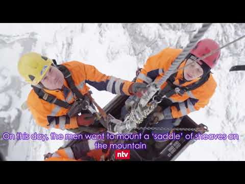 The Super Cable Car on the Zugspitze -  Full Documentary with English Subtitles
