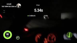 БМВ Е92 330d ручної 1/4 милі