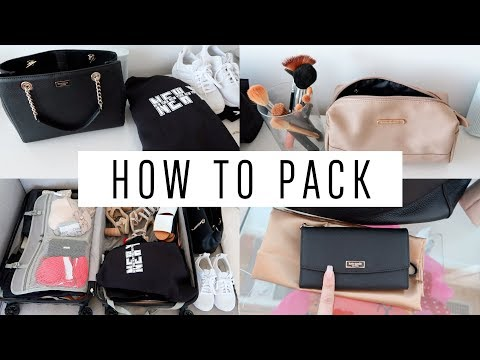 HOW TO PACK! My New York City Trip Essentials!