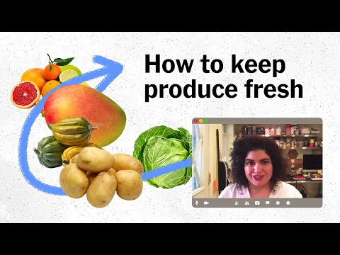 How to Store Fruits and Vegetables the Right Way