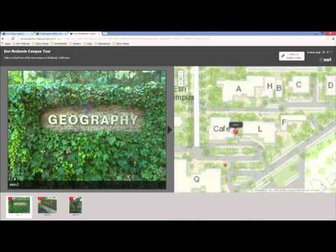 ArcGIS Online and the Landscape Planning Application