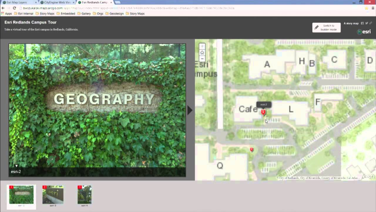 arcgis online and the landscape planning application youtube