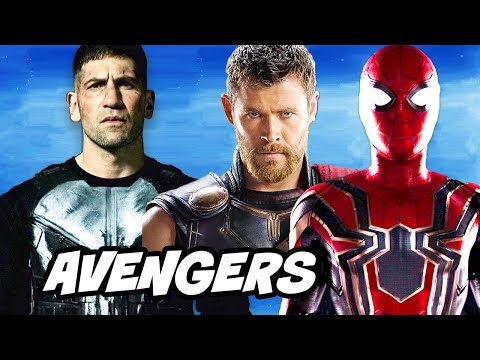 The Punisher Avengers Easter Eggs and Spider-Man References Breakdown