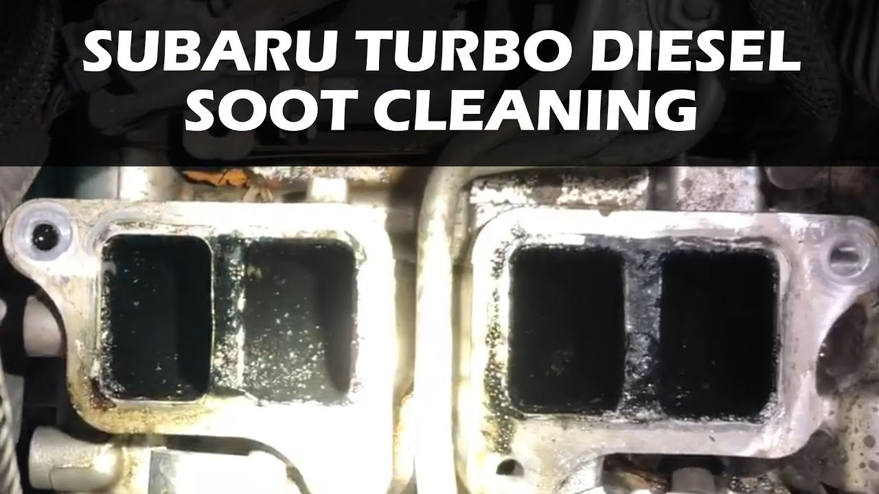 Subaru Outback Turbo Diesel Soot Clean Youtube