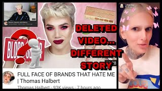 Thomas Halbert's DELETED VIDEO | Jeffree Star Snapchat Rant