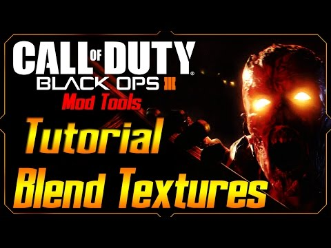 Black Ops 3 Mod Tools tutorial Ep.9 Blending textures