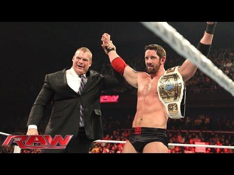 Dolph Ziggler vs. Bad News Barrett - Intercontinental Championship Match: Raw, January 5, 2015