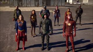 DC Legends Of Tomorrow 2×07- Final Battle Team Super vs Dominator (EPIC)