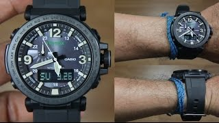 cASIO PROTREK PRG-600Y-1 WITH SILICONE BAND - UNBOXING
