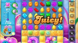 Candy Crush Soda Saga - level 341 (No boosters)