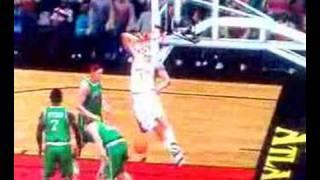 Secret Elbow Dunk in NBA 2K7 on Xbox 360