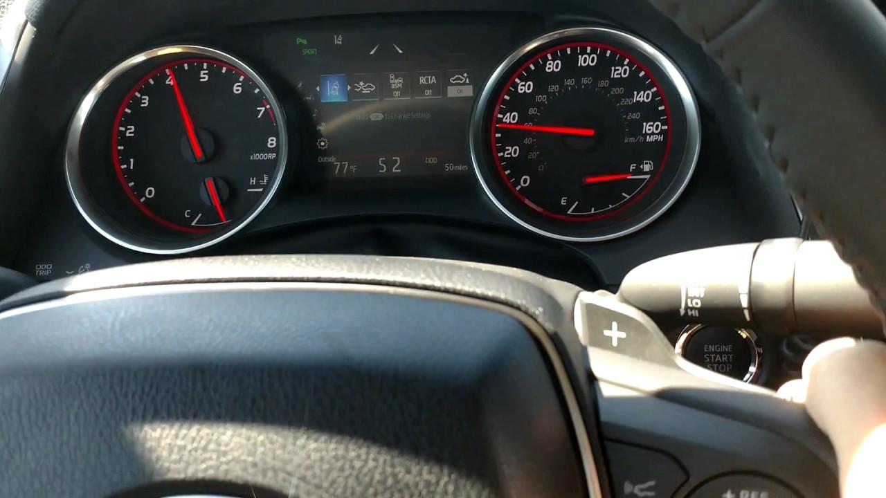 2018 Toyota Camry Xse V6 0 60