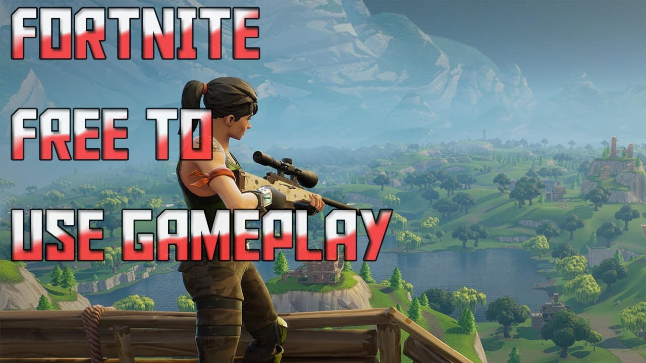 Free To Use Fortnite Battle Royale Gameplay Hd Fps