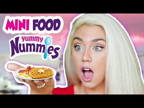 I ATE ONLY MINI FOOD YUMMY NUMMIES FOR 24 HOURS !!!