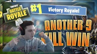 ANOTHER 9 Kill Fortnite Win - Stream Highlights #2