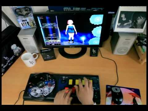 GameMac DJMAX Trilogy Muse On Controller