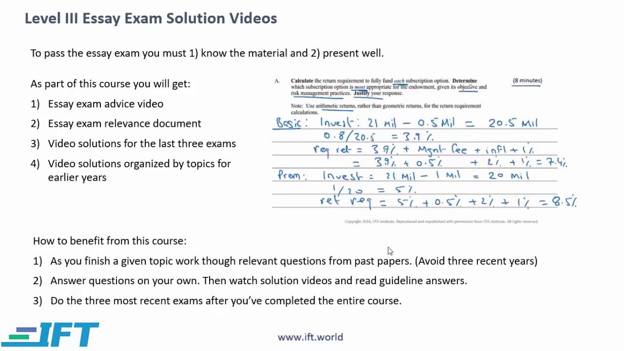 CFA Level III Test Prep - Review Course | AnalystForum