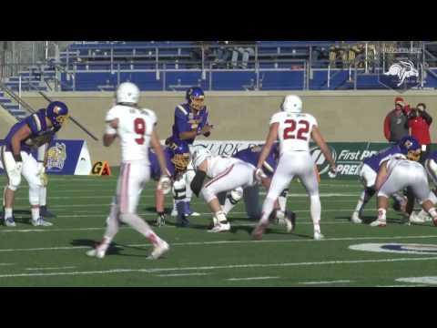 Football vs South Dakota Highlights (11.12.2016)