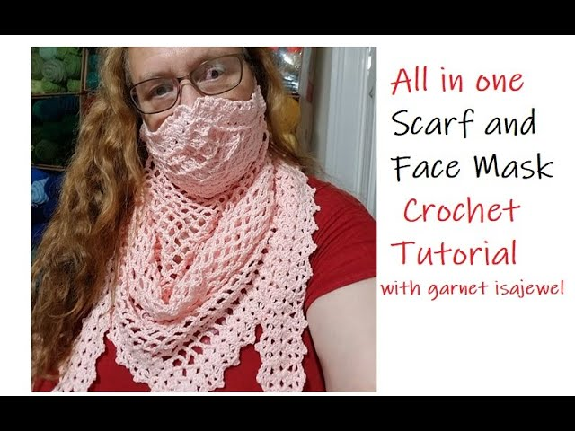 Crochet A Scarf Mask