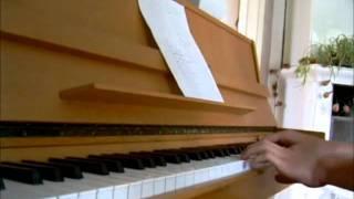 Ocarina of Time - Intro/Title Screen på Piano