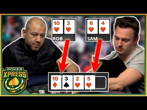 The PERFECT Time To Hit A Gutshot Straight!    A Poker Video