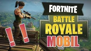 Mobile Fortnite Android - Ios indirilir? - Fortnite Mobile Gameplay - Fortnite Mobile Télécharger