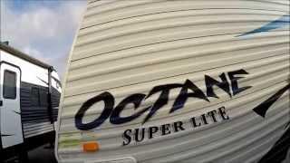 2010 Jayco Octane Super Lite 161 Toy Hauler Travel Trailer Video Presentation