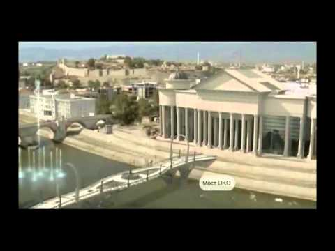 The New Capital of Macedonia, After 2000 years, Rising like Sun....again (Skopje2014)