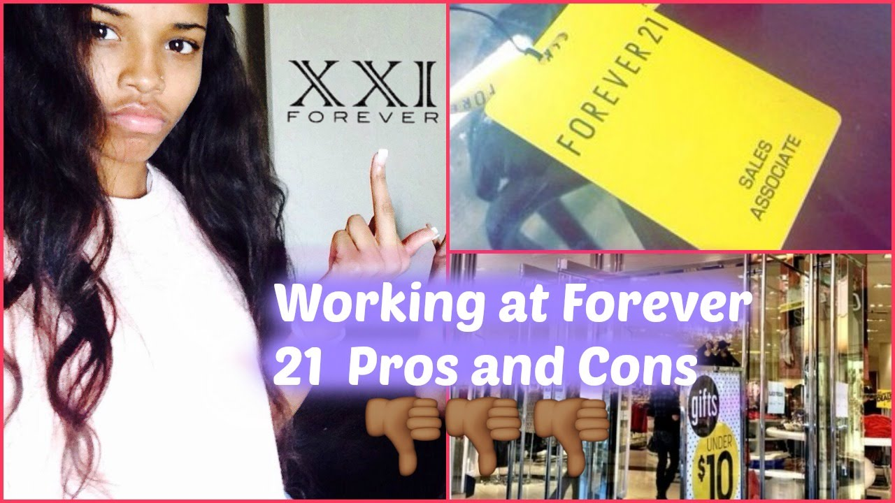 working at forever 21 experience