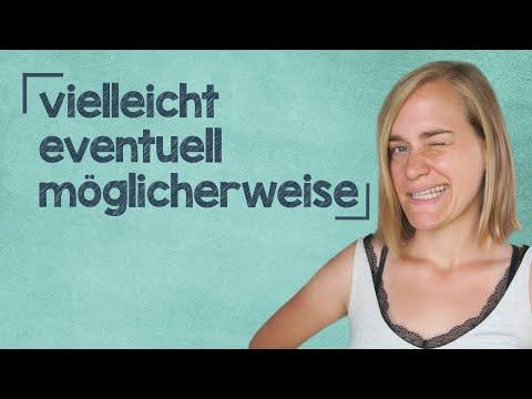 German Lesson (141) - Vielleicht... Eventuell... Möglicherweise... Mag sein... Kann sein... - A2/B1