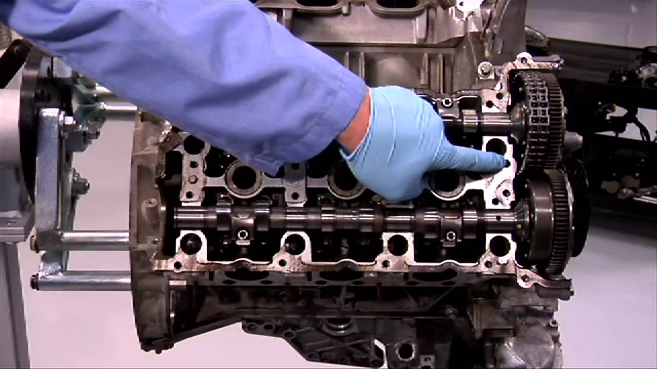 M272 & M273 Engine Balance Shaft Installation and Timing