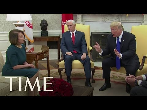 Trump Makes Threat Over Border Wall Funding, 'I Will Shut Down The Government' | TIME